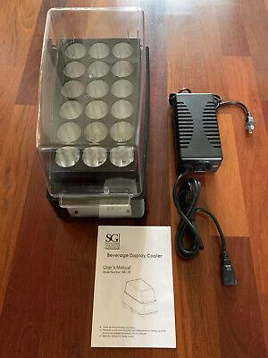 Countertop Entertaining Beverage Cooler Energy Drink Shot Refrigerator/Poolside