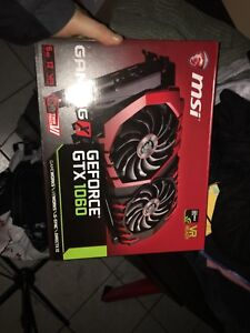 MSI Carte graphique 1060 6g dual fan cooling