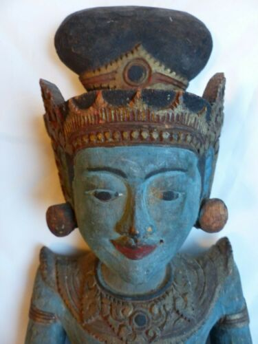 Balinese Vintage Hand Carved Wall Hanging