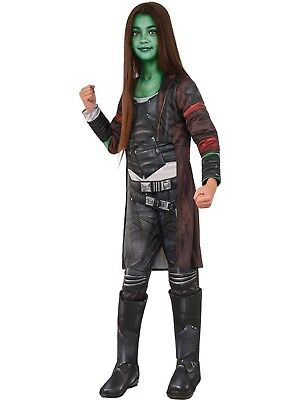 Gamora Deluxe Child Costume with Makeup Guardians of The Galaxy Halloween