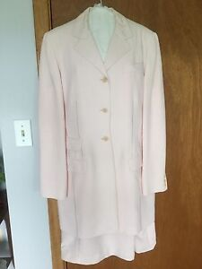 Spring dress with long Jacket