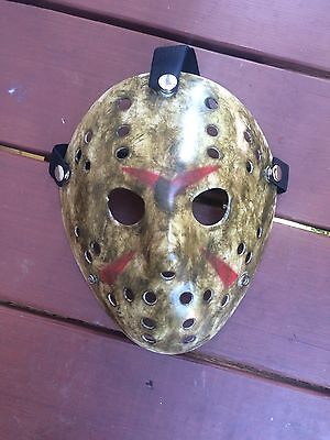 CUSTOM MADE Jason Voorhees FRIDAY THE 13th hockey mask Halloween costumes](Custom Halloween Masks)
