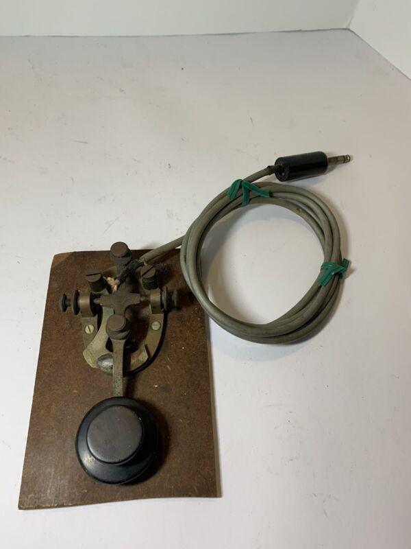Bunnell Telegraph key