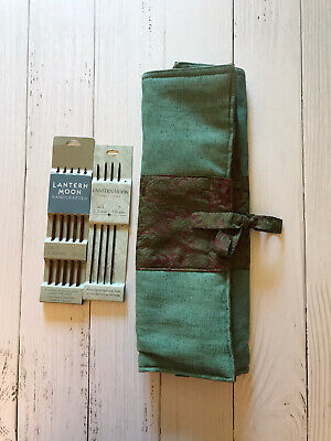 Lantern Moon Knitting Needle Case With Bonus Knitting Needles
