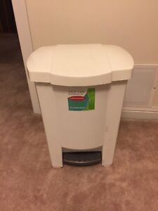 Step Can Trashcan with removable liner 50 gal