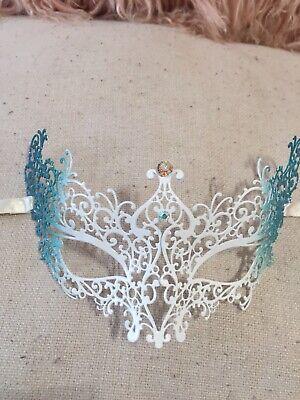 Metal  Venetian Carnival Mask La Fucina De Miracoli