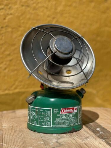 Coleman Radiant Heater Model 519 Easi-Lite