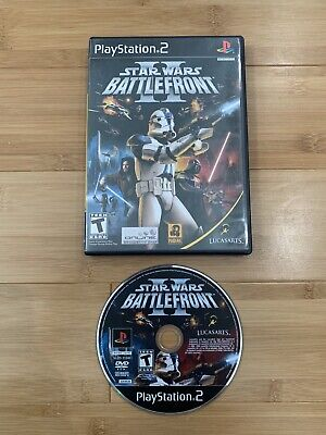 Star Wars: Battlefront II (Sony PlayStation 2, 2005) PS2 - Ships Same Day