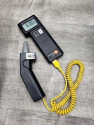 Testo 925 C F Type K Digital Thermometer W Probe New Batteries Nice