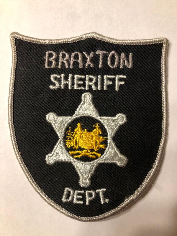 Braxton County West Virginia Sheriff Patch