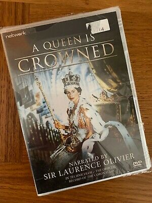 A Queen is Crowned - Sir Laurence Olivier (DVD) - New & Sealed - FREEPOST