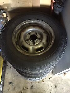 Stock vh commodore rims and tyres Trinity Beach Cairns City Preview