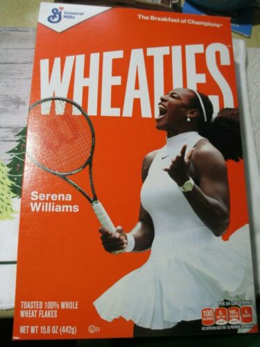 Serena Williams Wheaties Box Collectable