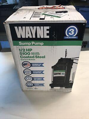 Wayne 12hp Sump Pump 5100gph Nos