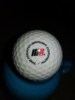 The Martin Brower Company Logo Golf Ball