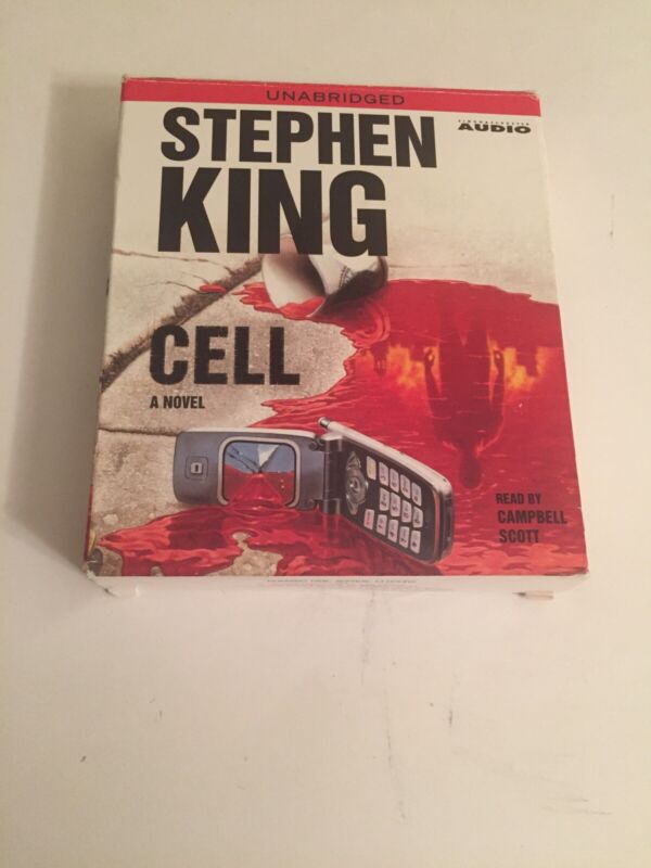 The Cell - Stephen King Audio Book Unabridged CD 12-Disc Set 2006
