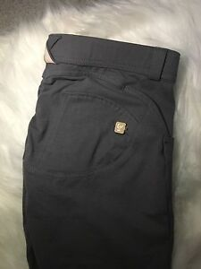 Freddy Dark Grey Cotton Pant