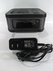 Memorex Cube Portable Speaker iPod/iPhone/Dock Mi4604PBLK Alarm Radio...