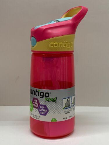Contigo Kids Autospout Gizmo Water Bottle, 14oz  2pk