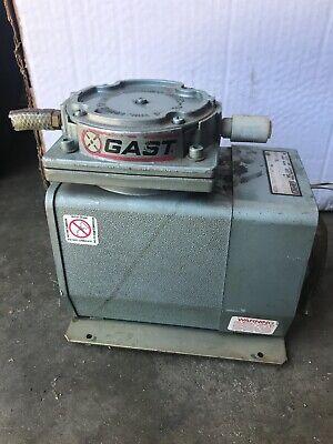 Tested Gast Doa-p108-db Laboratory Vacuum Pump Air Compressor 115v