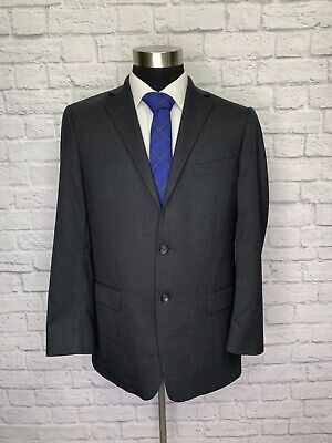 Mens Gray Suit Coat - Recent Hart Schaffner Marx Mens Charcoal Gray Wool Suit Jacket Sport Coat 42R