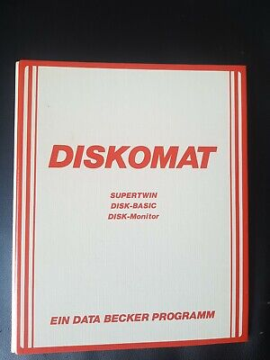 Diskomat (Data Becker) Commodore C64 (Diskette + Manual)