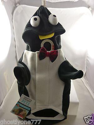 Penguin fleece Martha Stewart  costume dog pet clothes Halloween outift cute