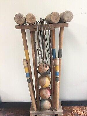 Croquet Antique Set