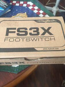Digitech fs3x. New in box