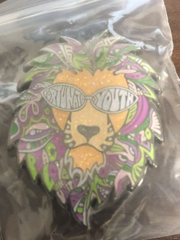 Fortunate Youth Peace Love & Unity Lion Pin Gubb Variant by Danny Steinman X/150