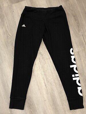 Adidas Climalite Black Athletic Leggings. Ladies Size Small