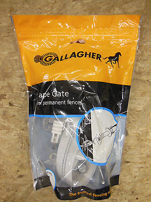 Gallagher Electric Fence 1 12 Tape Gate - Livestock Horses New