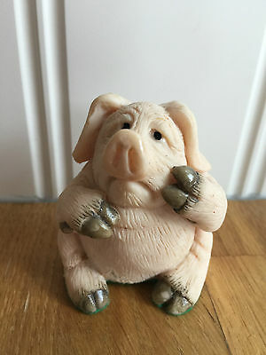 Piggin Pig Collectables Piggin Poorly