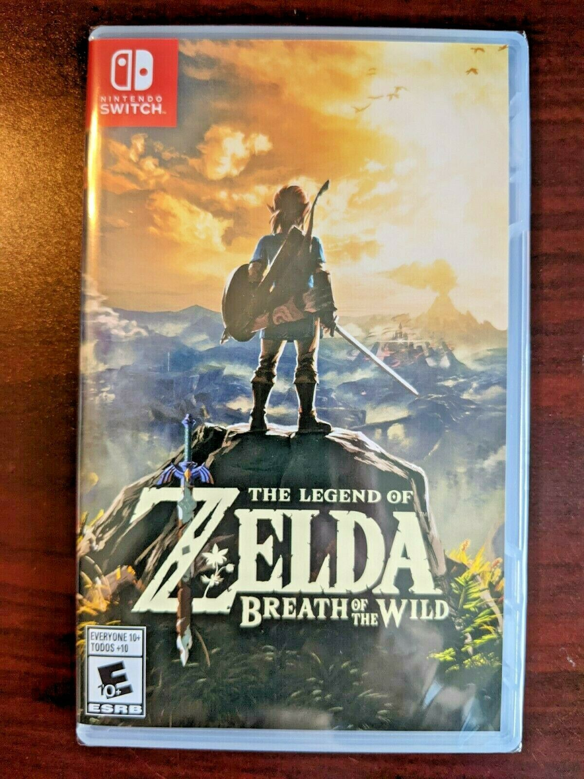Brand NEW The Legend of Zelda: Breath of the Wild  Sealed