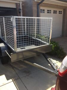 6x4 Cage Trailer For Hire Only