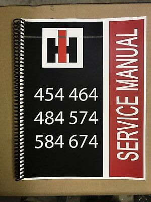 464 International Harvester Ih Technical Service Shop Repair Manual Farmall