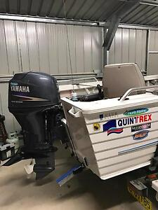 quintrex fishseeker yamaha 50hp four stroke Newcastle Newcastle Area Preview