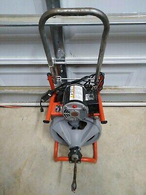 Ridgid K-400-t2 Drain Cleaning Drum Machine Autofeed 120v60hz Ed4u