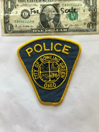 Bowling Green Ohio Police Patch (City of) un-sewn in mint shape