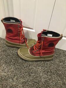 Sz 10 womens sorel boots