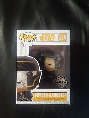 Star Wars Dryden Gangster Funko Pop Figure 254