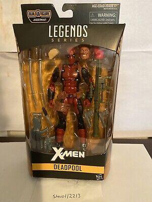 Marvel Legends Hasbro Deadpool 6 Inch Juggernaut Wave
