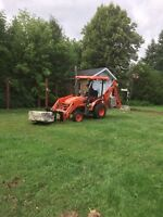 FREE QUOTES Compact Tractor For Hire