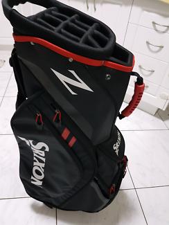 Golf Srixon Z Four Cart Bag Black/Red