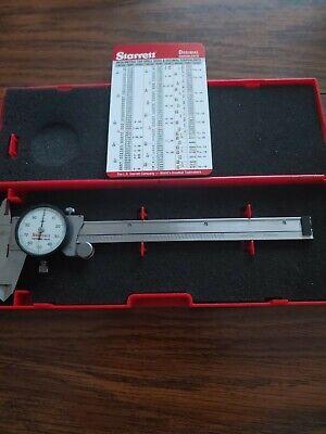 Starrett No.120 Dial Caliper With Case