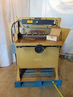 Challenge Paper Cutter Model Hbe Size 305 230v 3phase 30.5 Inch Width S5621