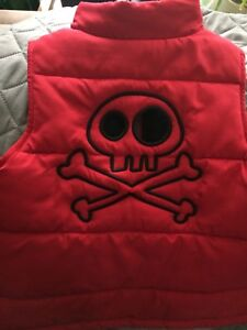 Fall vest Disney pirate size 4t