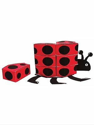 Ladybug party supplies Centerpiece with 12ct. favor boxes - Ladybug Centerpieces
