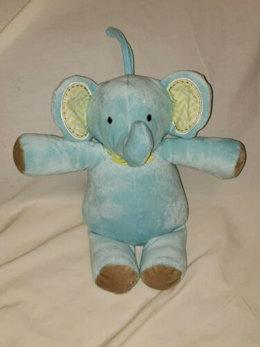 Circo Target Baby Blue Elephant Musical 2014 Pull Music Plush Stuffed Animal