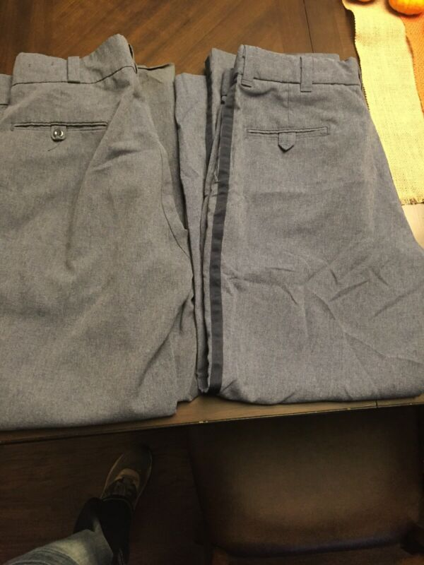 USPS Uniform Pant Size 35-36R Two Pair